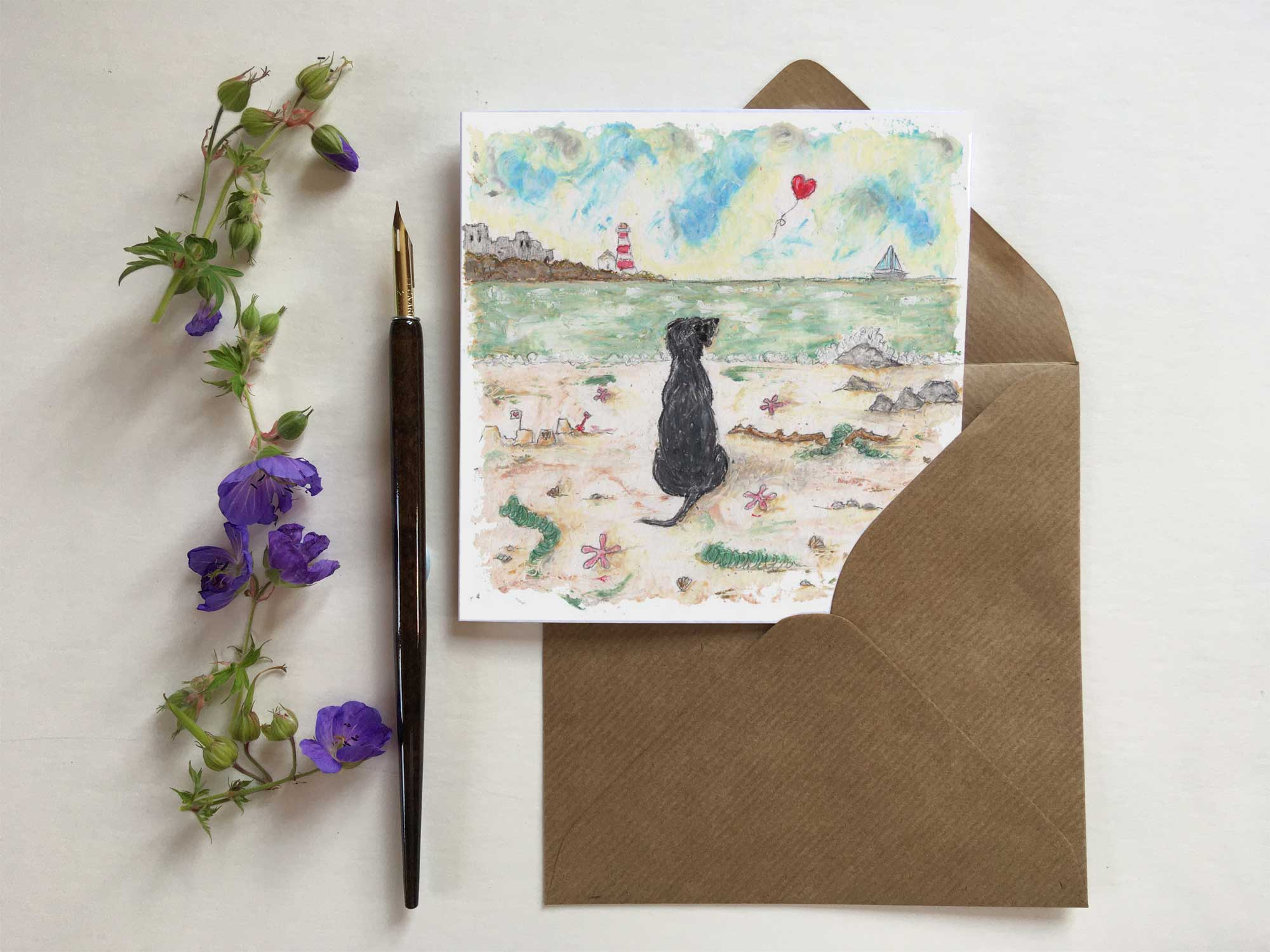 Hold Our Hearts   Blank Greetings Card